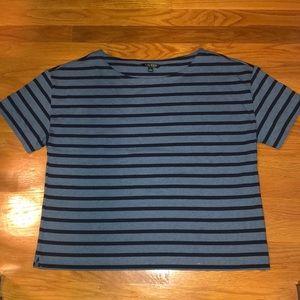 Ralph Lauren Boatneck Striped Top